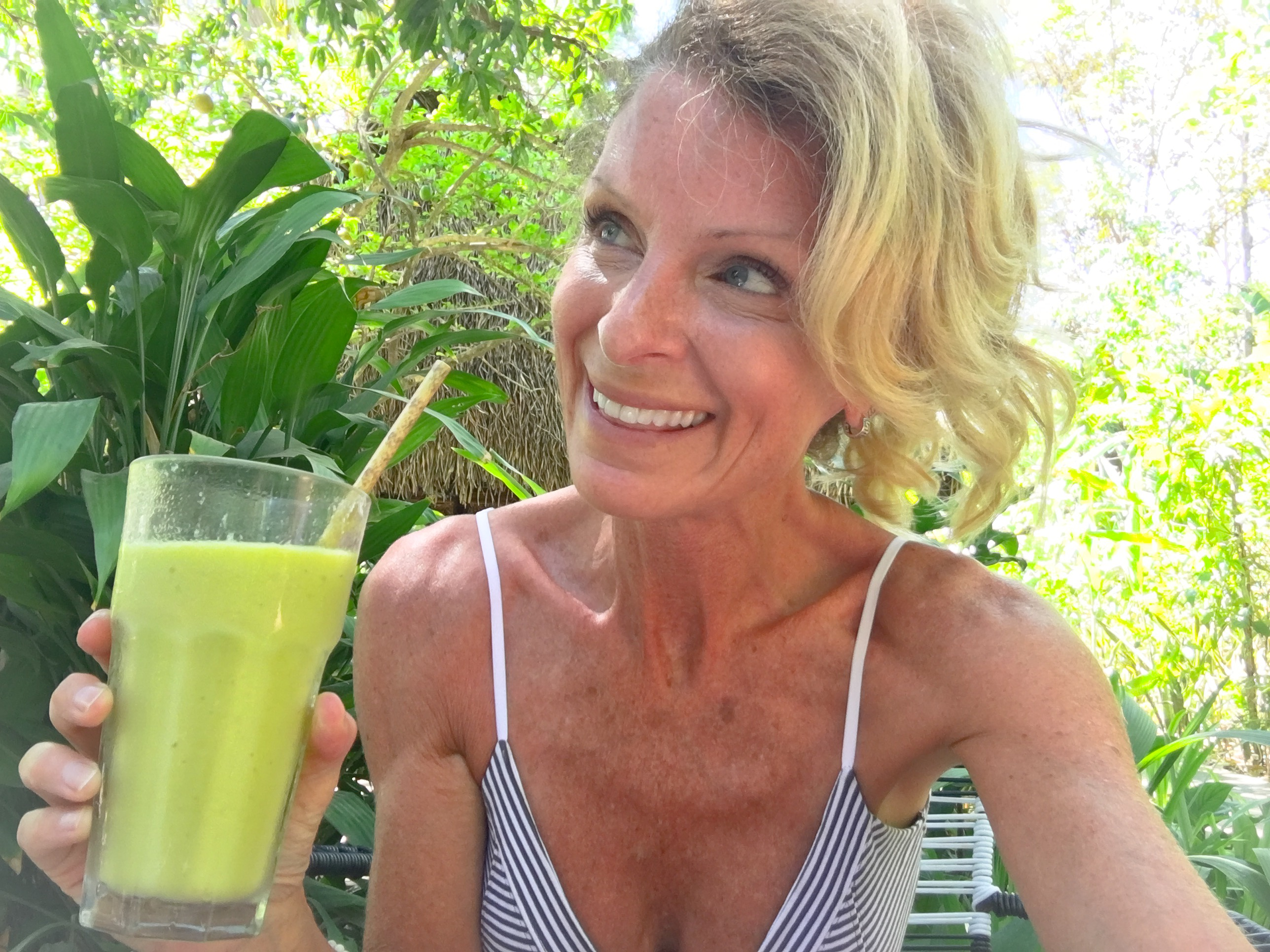 Kelly Childs green smoothie
