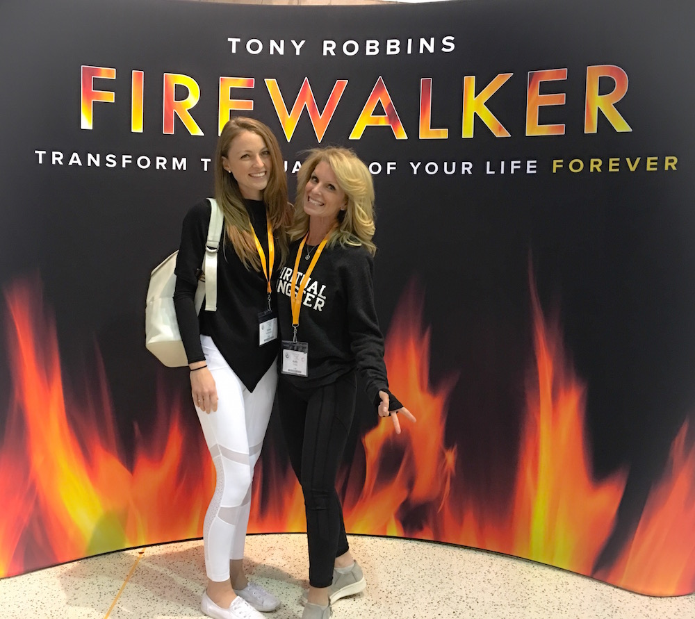 Tony Robbins Fire Walker